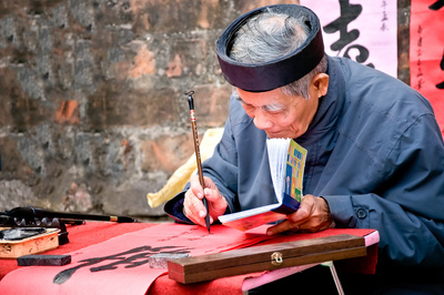 Day 2   hanoi old master is writing