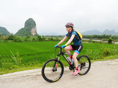 Day 4   easia travel mai chau   cycling mai chau biking  2