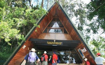 Marangu gate kilimanjaro