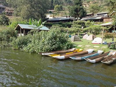 Bunyonyi canoe