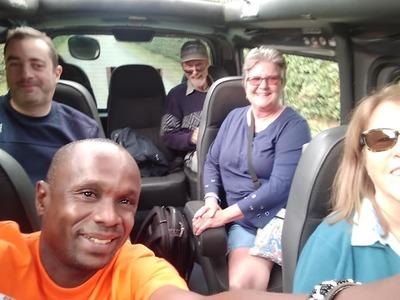 Kenya game drive on van vegan group