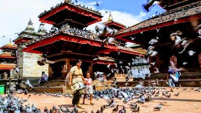 Temple walking tour in kathmandu