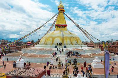 Buddha stupa daytour