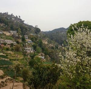 Hike around village view