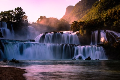 Gioc village waterfall 5689446