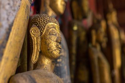 Buddhastatuesluangprabang