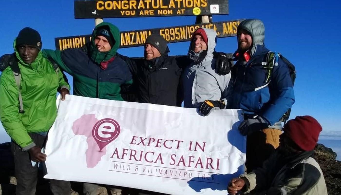 Expect in africa safari kill