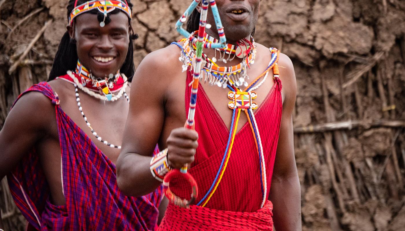 1. masai warriors
