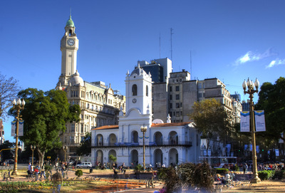 Cabildo plaza hdr