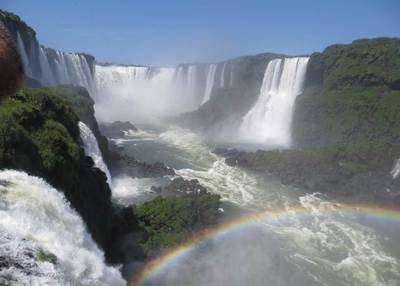 Iguazu falls brazilian side
