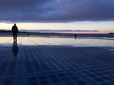 Zadar greeting to the sun