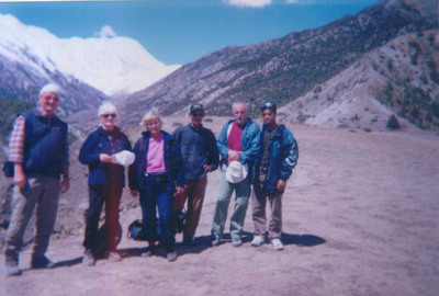 Germany groups with manang annapurna round trek 2001.