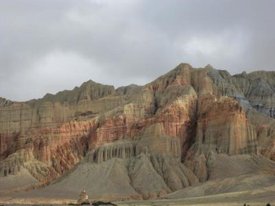 Beautiful mountain in mustang