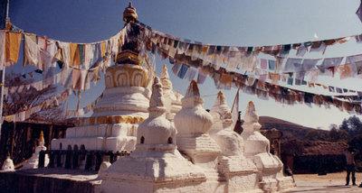 Namo buddha stupa