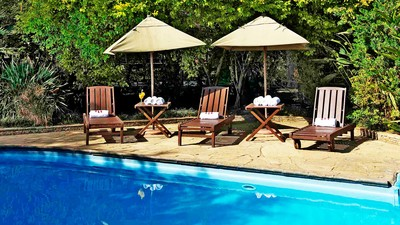 Arusha coffee lodge swimming pool