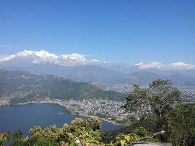 Pokhara with fewa