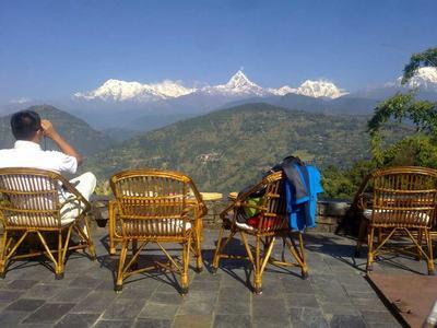 Enjoying scenario pokhara