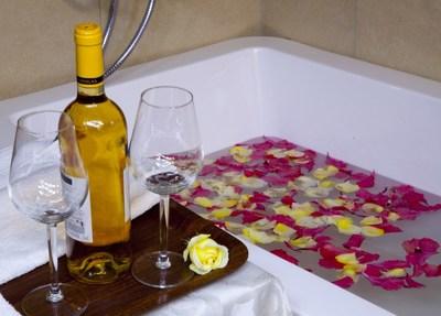Bathroom  crater safari lodge