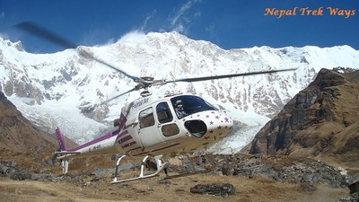 Nepal helicopter tour1