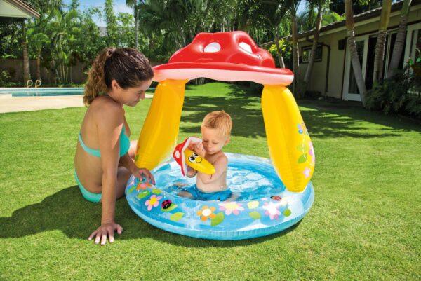 PISCINA BABY FUNGO CM 102X89 I.6 - Altro - Toys Center ALTRI Unisex 12-36 Mesi, 3-5 Anni ALTRO