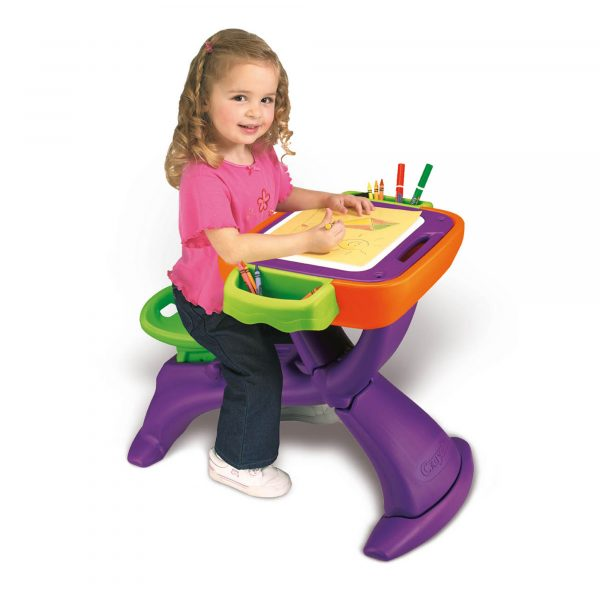 Banco scuola ABC Crayola - Altro - Toys Center ALTRI Unisex 12-36 Mesi, 3-5 Anni, 5-8 Anni CRAYOLA