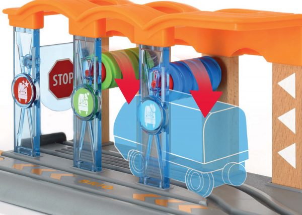 BRIO Smart Tech Autolavaggio per locomotiva intelligente - Brio Accessori - Toys Center - BRIO ACCESSORI - Personaggi e set di gioco prescolare