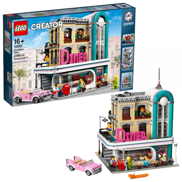 10260 - Downtown Diner - Lego Creator Expert - Toys Center - LEGO CREATOR EXPERT - Costruzioni