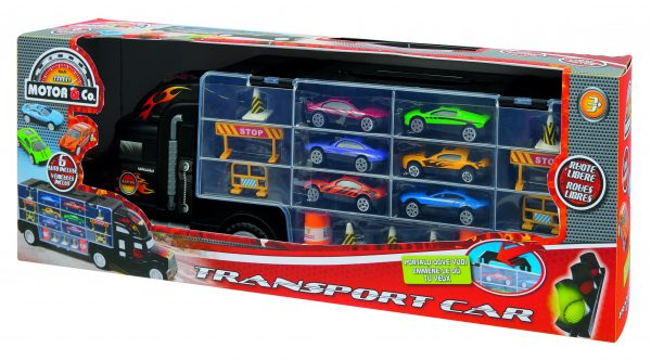 TRANSPORTER CAR - TOYS CENTER - Set di veicoli e accessori