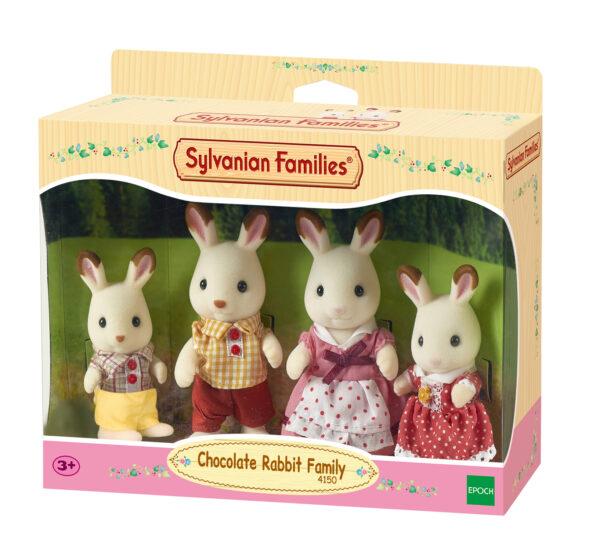 Sylvanian Families - Famiglia Conigli cioccolato SYLVANIAN FAMILIES Femmina 12-36 Mesi, 3-4 Anni, 3-5 Anni, 5-7 Anni, 5-8 Anni, 8-12 Anni ALTRI