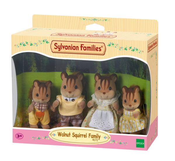 Sylvanian Families - Famiglia scoiattoli nocciola SYLVANIAN FAMILIES Femmina 12-36 Mesi, 3-4 Anni, 3-5 Anni, 5-7 Anni, 5-8 Anni, 8-12 Anni ALTRI