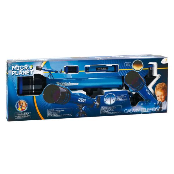Telescopio galaxy - Microplanet - Toys Center MICROPLANET Unisex 5-8 Anni, 8-12 Anni ALTRI