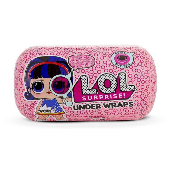 Giochi Preziosi - Lol Under Wraps, Sfera con Mini Doll a Sorpresa, Modelli Assortiti - LOL - Fashion dolls