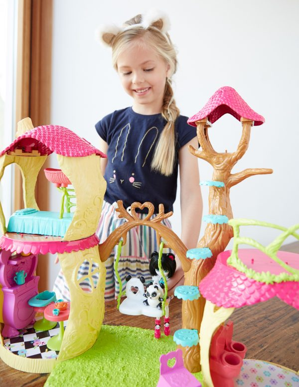 Enchantimals Playset Casa sull'Albero - ENCHANTIMALS - Altre bambole e accessori