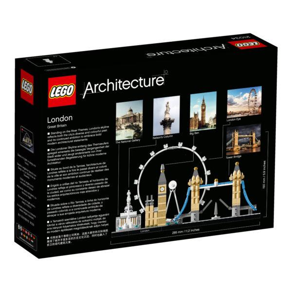21034 - Londra - Lego Architecture - Toys Center ALTRI Maschio 12+ Anni LEGO ARCHITECTURE