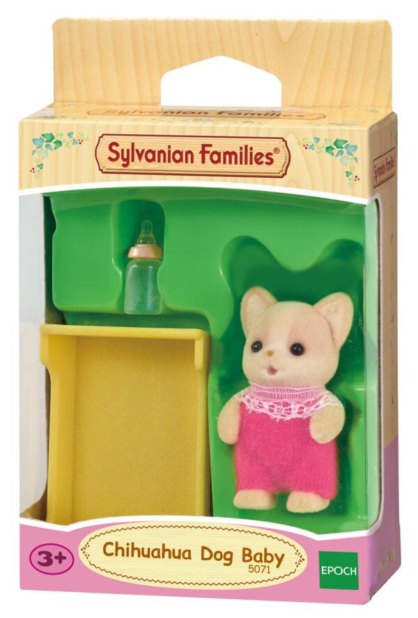 Bebè Chihuahua - SYLVANIAN FAMILIES - Playset e accessori per personaggi d'azione