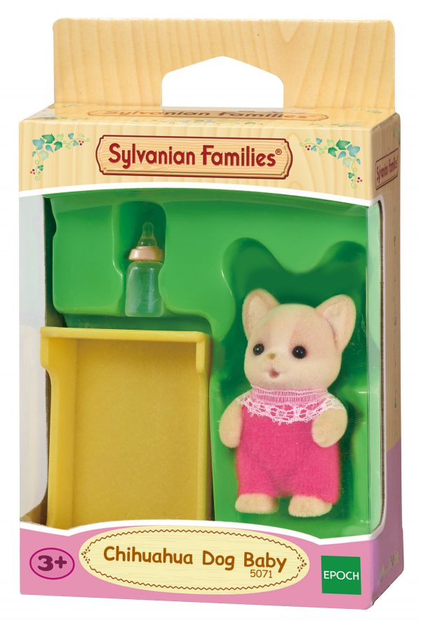 Sylvanian Families – Bebè Chihuahua SYLVANIAN FAMILIES Femmina 12-36 Mesi, 3-5 Anni, 5-8 Anni ALTRI