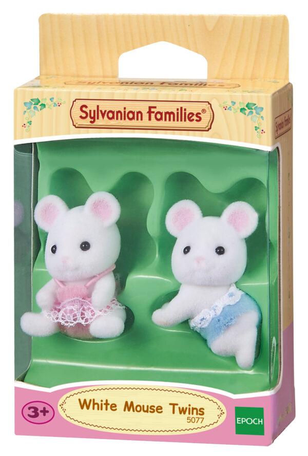 Gemelli topi bianchi - SYLVANIAN FAMILIES - Playset e accessori per personaggi d'azione