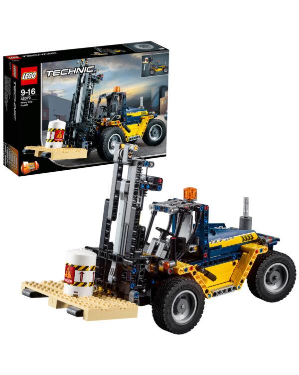 LEGO TECHNIC 42079 - Carrello elevatore Heavy Duty - 42079 LEGO TECHNIC Unisex 12+ Anni, 8-12 Anni ALTRI