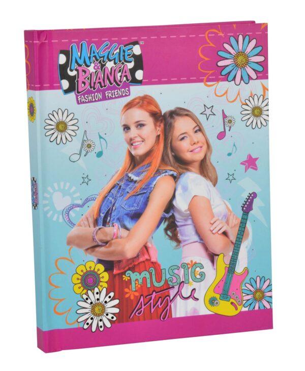 Maggie & Bianca Music Diary - Diari segreti - Giochi creativi - Giocattoli Maggie & Bianca Femmina  ALTRO