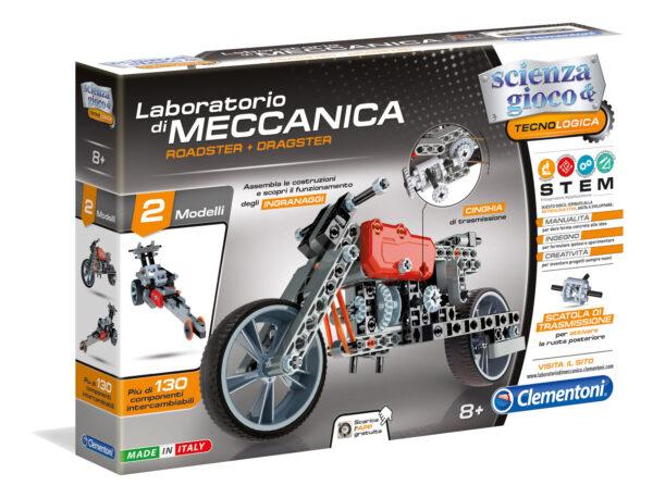 Clementoni - 13969 - Lab Mec - Roadster & Dragster FOCUS / SCIENZA&GIOCO Unisex 12+ Anni, 8-12 Anni ALTRI