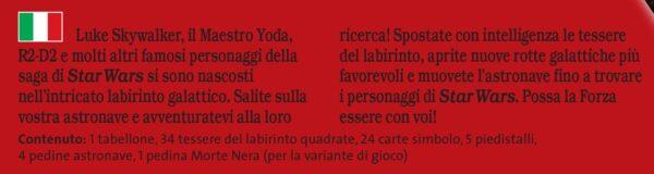 Labirinto Star Wars - Best Seller Disney - DISNEY - Marche Unisex 12+ Anni, 5-7 Anni, 5-8 Anni, 8-12 Anni Star Wars LABIRINTO
