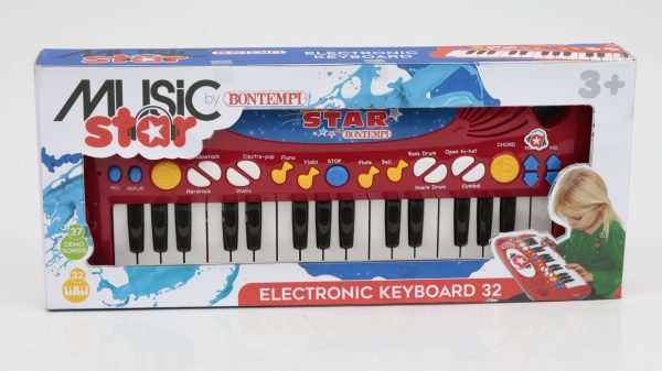 MUSIC STAR Tastiera elettronica boy TOYS CENTER Unisex 12-36 Mesi, 12+ Anni, 3-5 Anni, 5-8 Anni, 8-12 Anni MUSIC STAR