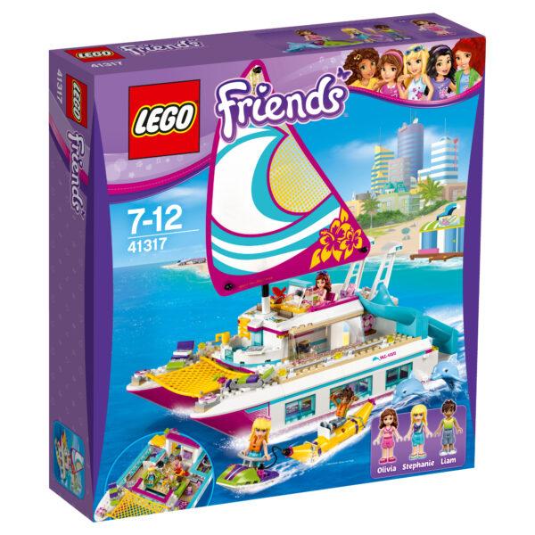 LEGO  Friends- Il Catamarano - 41317 LEGO FRIENDS Femmina 5-7 Anni, 5-8 Anni, 8-12 Anni ALTRI