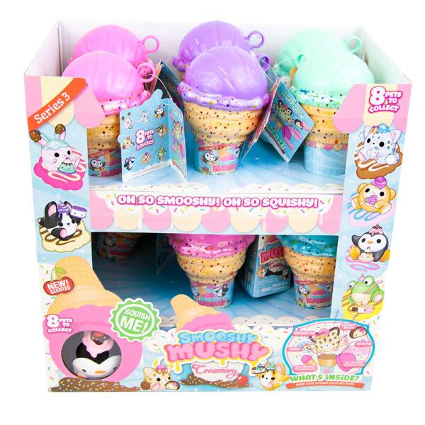 ALTRI Giochi Preziosi - Smooshy Mushy Core Creamery, Animaletti Morbidi e Profumati, con Accessori, modelli Assortiti ALTRO 12+ Anni, 8-12 Anni Femmina