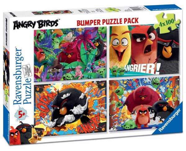 Bumper pack Angry Birds 4x100 - ANGRY BIRDS - Personaggi - ALTRO - Estate