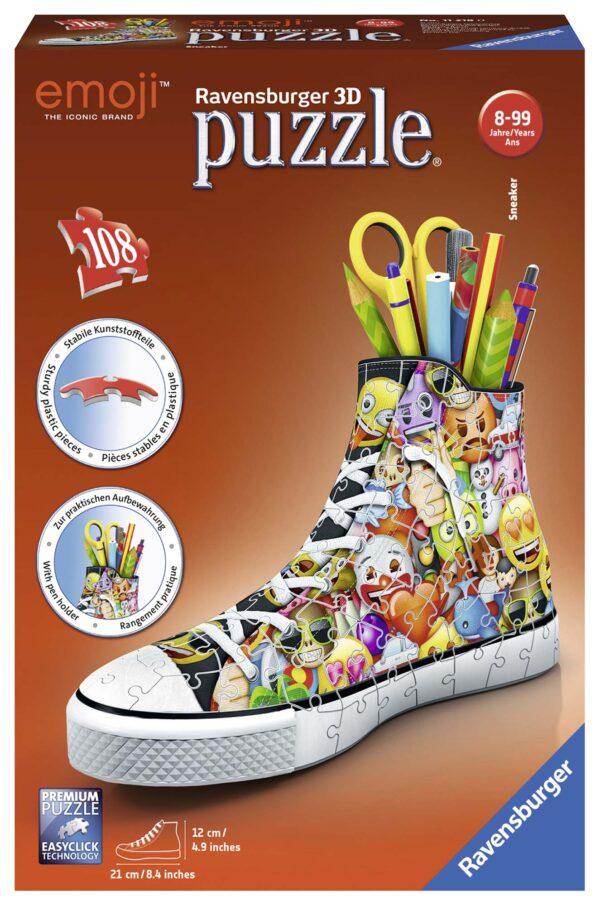 3D Puzzle Sneaker - Emoji - Altro - Toys Center ALTRO Unisex 12+ Anni, 5-8 Anni, 8-12 Anni EMOJI