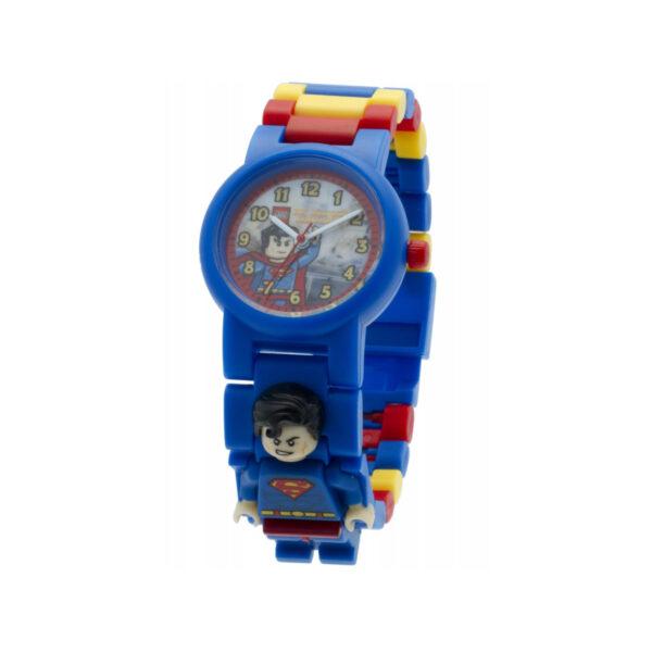 OROLOGIO LEGO SUPER HEROES SUPERMAN - Licenza Lego - LEGO - Marche DC COMICS Unisex 12+ Anni, 5-8 Anni, 8-12 Anni SUPERMAN