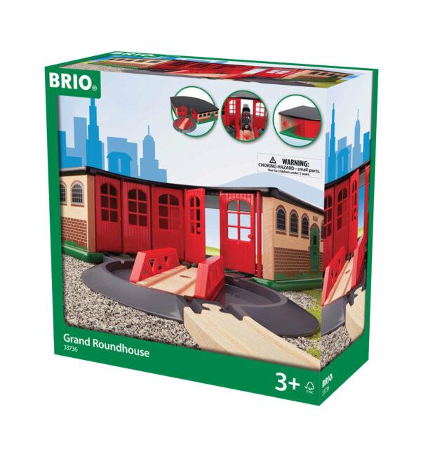 BRIO grande deposito per treni BRIO Unisex 12-36 Mesi, 3-4 Anni, 3-5 Anni, 5-7 Anni, 5-8 Anni ALTRI
