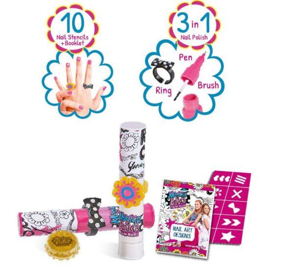 Maggie & Bianca Nail Art Set - Altro - Toys Center Maggie & Bianca Femmina 12+ Anni, 5-7 Anni, 8-12 Anni ALTRO