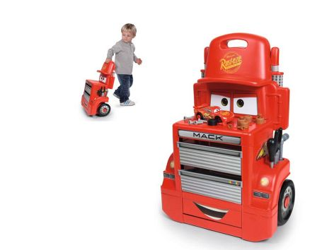 Cars 3 Mack Truck Trolley - Smoby - Toys Center - SMOBY - Fino al -20%